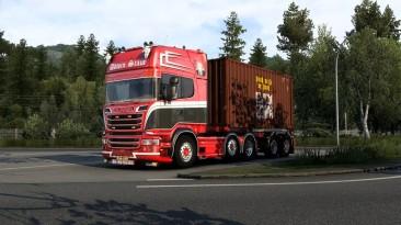 """Euro Truck Simulator 2 """"Звук для Scania V8 версия 11.5 (1.40)"""""""