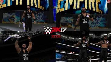"WWE 2K17 ""Roman Reigns Clash of Champions 2020 Наряд (Лицевая анимация) WWE 2K19 Порт Мод"""