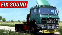 "Euro Truck Simulator 2 ""Мод Mercedes 1632 NG Sound Fix (1.39.x)"""