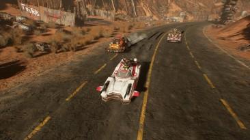 Альфа-геймплей автомобильной экшен-стратегии Dark Future: Blood Red States