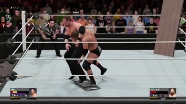 "WWE 2K16 ""Россия VS USA - 2K16 Online Extreme Fight Triple H VS Kane"""