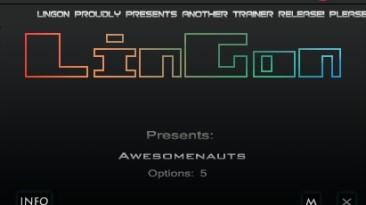 Awesomenauts: Трейнер/Trainer (+5) [1.5: Steam Version] {LinGon}