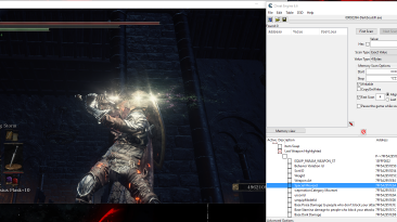 Dark Souls 3: Таблица для Cheat Engine 6.6 [Last Update: 6 декабря 2016]