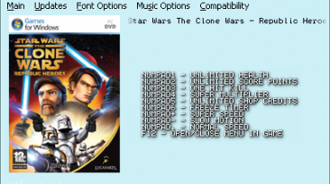 Star Wars: The Clone Wars - Republic Heroes: Трейнер (+7)