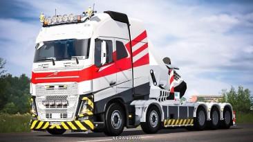 "Euro Truck Simulator 2 ""VOLVO FH16 2012 Мега Мод [RPIE] 27.01.21"""