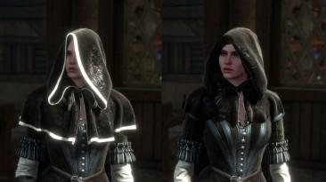 """Witcher 3: Wild Hunt """"Черный и еще раз черный капюшон"""""""