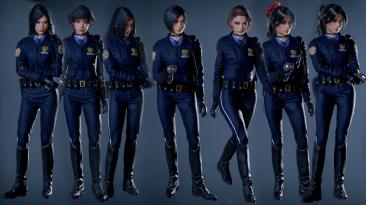 """Resident Evil 2 """"Костюм полицейского и набор причесок для Ады Вонг"""""""