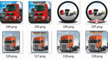 """German Truck Simulator """"Иконки"""""""