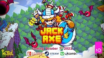Двухмерный платформер Jack Axe заглянет на ПК и Switch 7 октября, опубликован трейлер запуска