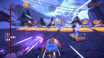 Новые скриншоты Garfield Kart: Furious Racing