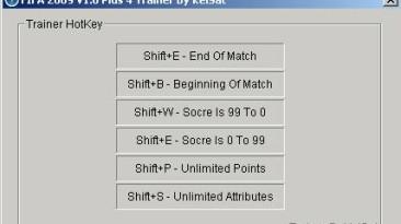 FIFA 09: Трейнер (+4)