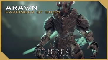 Демон Arawn пожирает души поверженных врагов в Ethereal: Clash of Souls