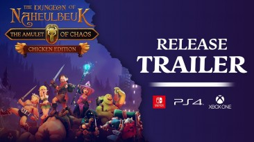 The Dungeon of Naheulbeuk: The Amulet of Chaos вышла на PS4, Xbox One и Switch