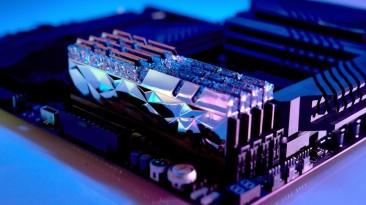G.Skill представила память DDR4 серии Trident Z Royal Elite с новым дизайном