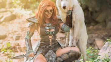 Skyrim: косплей Эйлы-Охотницы от Джессики Нигри