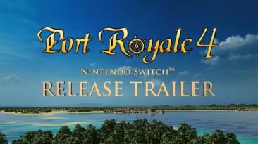 Пираты и экономика - смотрим релизный трейлер Port Royale 4 для Nintendo Switch