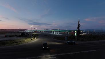 Вайоминг: Разработчики показали какими будут места для отдыха водителей