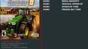 Farming Simulator 19: Трейнер/Trainer (+5) [17801/19830] {FutureX}