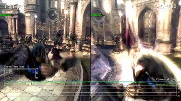 """Devil May Cry 4 Special Edition """"Сравнение частоты кадров PS4 vs Xbox One от Digital Foundry"""""""