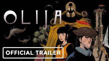 Анимационный трейлер приключенческой игры Olija
