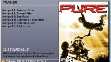 Pure: Трейнер (+6) [1.0] {CheatHappens}
