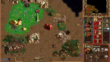 """Heroes of Might and Magic 3 """"Карта - Battle of the Druids"""""""