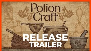 Релизный трейлер к выходу Potion Craft: Alchemist Simulator в раннем доступе Steam
