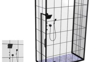 """The Sims 4 """"Loft Bathroom - Shower"""""""