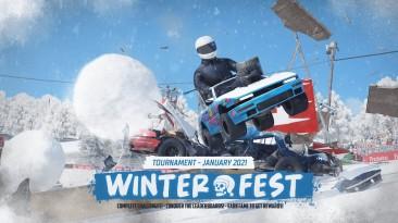 Обновление Winter Fest для Wreckfest приносит новый турнир и автомобиль