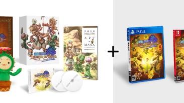 Ремастер Legend of Mana получит физическое коллекционное издание... но только в Японии