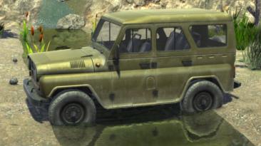 "ATOM RPG ""УАЗ 3151 Военный (UAZ 3151 Military)"""