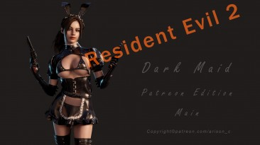 "Resident Evil 2 ""Клэр темная горничная"""