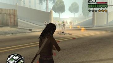 """Grand Theft Auto: San Andreas """"Охота за Сиджеем корпоративными робокопами Оу Си Пи (SA) 1.0"""""""