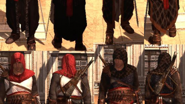 """Assassin's Creed: Brotherhood """"altair costumes pack 2"""""""