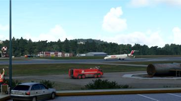 Новые скриншоты будущего аэропорта Ла-Корунья для Microsoft Flight Simulator