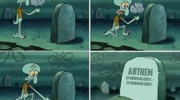 После новости о прекращение выпуска крупных дополнений для Anthem
