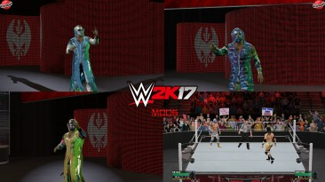"WWE 2K17 ""Sin Cara 3 Attire Pack WWE 2K19 Port MOD"""