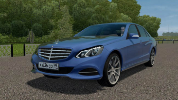 "City Car Driving ""Mercedes-Benz E300 (W212) Stage 1 от 18.10.21 (v1.5.8 - 1.5.9.2)"""