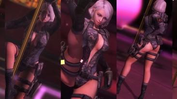 """Dead or Alive 5: Last Round """"DOMINIQUE HITZFELD sexy mod"""""""
