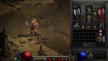 """Diablo 2: Resurrected """"Простой фильтр и возможность скрывать шлем"""""""