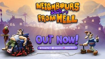 Neighbours From Hell 1 & 2 Remastered доступны для устройств iOS и Android