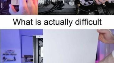 Что люди думают и что на самом деле сложно