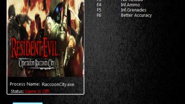 Resident Evil: Operation Raccoon City: Трейнер/Trainer (+3) [1.2.1803.136] {MrAntiFun}