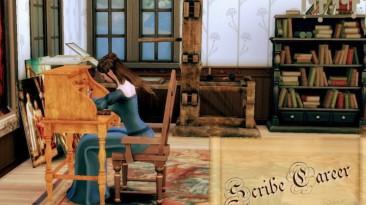 """The Sims 4 """"Карьера средневекового писца"""""""