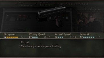 """Resident Evil 4 """"Weapons hd pack"""""""