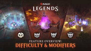 Новый трейлер Magic: Legends рассказывает об уровнях сложности и модификаторах игры