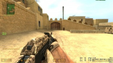 """Counter Strike: Source """"Песочный АК-74М из EFT"""""""
