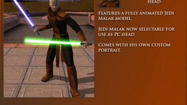 """Star Wars: Knights of the Old Republic """"Player as Jedi Malak (Full Animated)"""""""