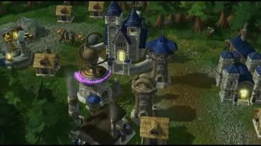 Трейлер ремейка Warcraft III от сторонних разработчиков на движке Starcraft II.