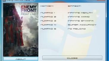 Enemy Front: Трейнер/Trainer (+5) [1.0] {GRIZZLY / PlayGround.ru}